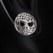 Celtic Knot tree of Life Silver Stud Earrings, ep301