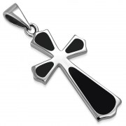 Black Onyx Cross Pendant, p533