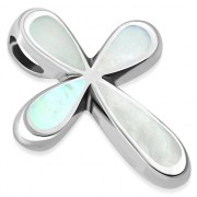 Mother of Pearl Cross Pendant, p542