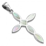 Mother of Pearl Cross Pendant, p546