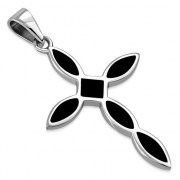 Black Onyx Cross Pendant, p546