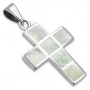 Mother of Pearl Cross Pendant, p549