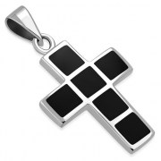 Black Onyx Cross Pendant, p549